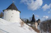 Towers Of Pechorsky Monastery