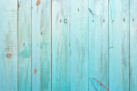 stock photo of lumber  - Old painted wood wall  - JPG