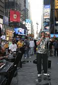 Times Square Musicians