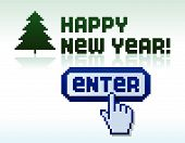 Pixel New Year
