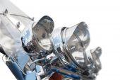 Headlight Of Motorcycle