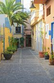 pic of canary-islands  - Narrow streets - JPG