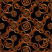Refined Wood Decorative Background Pattern