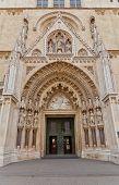 Portal Of Zagreb Cathedral (xviii C.). Croatia