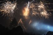Pyrotechnic Show, Locations Toce Waterfall - Piedmont