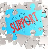 Puzzle Jigsaw Support