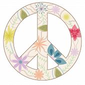 Peace sign vintage