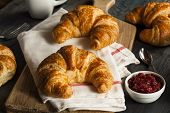 Homemade Flakey French Croissants