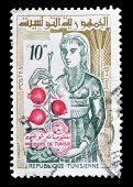 Tunisia stamp 1959