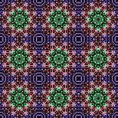 Seamless deacorative pattern