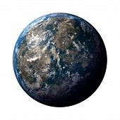 Planet Earth Illustration