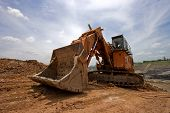 Excavator Machine Earthmoving
