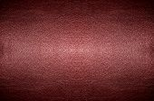 Closeup Abstract Red Pvc Leather Background