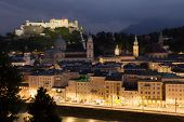 Salzburg In The Night