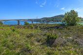 Ognasundbrua (bridge) In Rogaland, Norway