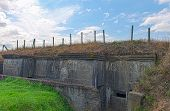 German Bunker Of World War One Belgium Flanders Fields