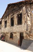 An old rundown building