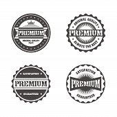 premium label sticker