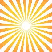 Sun Sunburst Pattern