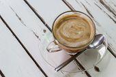 Dark Wood Coffee Table Top