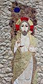 VEPRIC, CROATIA - JUNE 07: Jesus, Shrine of Our Lady of Lourdes in Vepric, Croatia, on June 07, 2012.