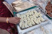 Sweets , Indian Food At Handicrafts Fair At Kolkata