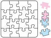 Jigsaw Puzzle Square