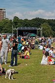 Crowds Enjoy The African Oye Music Festival