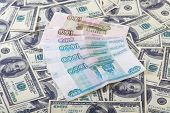 two currencies US dollars and roubles