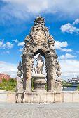 Sculpture On Toledo Bridge