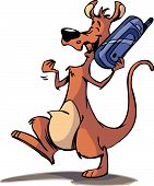 cell phone kangaroo