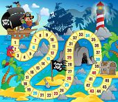 Board game theme image 5 - eps10 vector illustration.