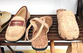 Shoes From The Bark Of The Cork Oak