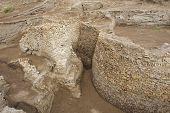 Ruins of Otrar (Utrar or Farab), Kazakhstan.