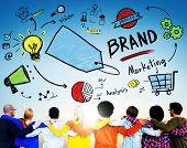 Diversity People Brand Marketing Concept