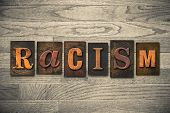foto of racial discrimination  - The word  - JPG