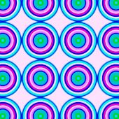 Blur seamless colorful pattern with circles in candy colors