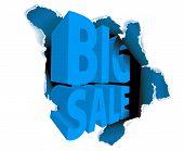 Big Sale Discount Advertisement