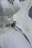 Wedding Dress. Detail