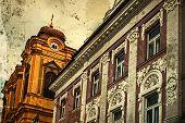 Old Postcard Of  Historical Buildings.timisoara, Romania