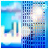 Dawn And Skyscraper