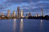 Surfers Paradise Skyline -queensland Australia