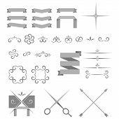 Vector Decorative Design Elements And Page Decor