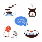 SPA and aromatherapy icons