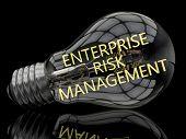 stock photo of enterprise  - Enterprise Risk Management  - JPG