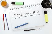 picture of productivity  - Productivity  - JPG