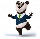 image of pandas  - Fun panda - JPG