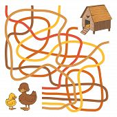 pic of duck  - Game for children - JPG