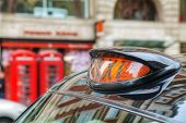 picture of hackney  - Famous taxi cab  - JPG