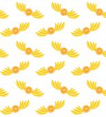 ������, ������: Bananas and oranges pattern